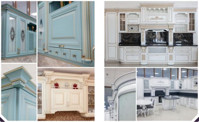 Кухни с фасадами из ценных пород дерева бука, дуба и ясеня