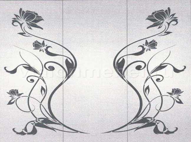 пескоструйные рисунки для 3 и более дверей