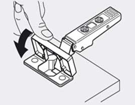 Петли мебельные Clip top от Blum